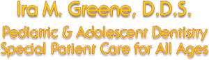 Logo for Ira M. Greene, DDS